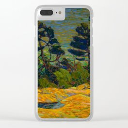 Tom Thomson Byng Inlet Georgian Bay winter 1914-1915 Canadian Landscape Artist Clear iPhone Case