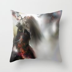 Colour Tail Throw Pillow