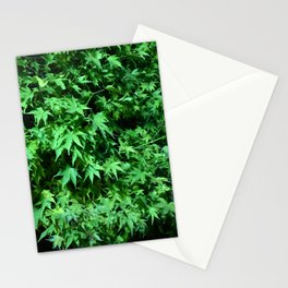 Military support Glow Japanese Maple Stationery Cards