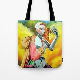 An Android in Nature Tote Bag