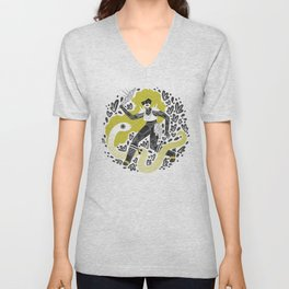 The Serpent Knight Unisex V-Neck