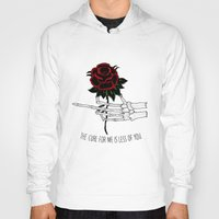 the cure Hoodies featuring the cure for me by Mike Avery Draws