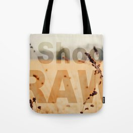 I SHOOT RAW Tote Bag