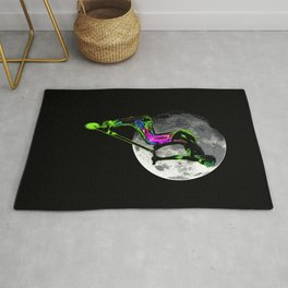 Moon Tripping - Scooter Boy Artwork Rug
