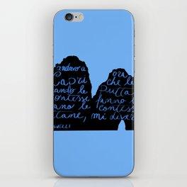 Capri non mi diverte più iPhone Skin