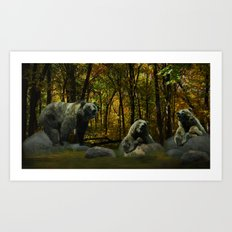 Forest Songs Art Print