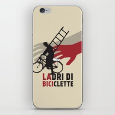 Ladri di biciclette iPhone & iPod Skin