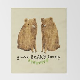 Beary Lovely Throw Blanket