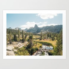 Rae Lakes - Kings Canyon I Art Print