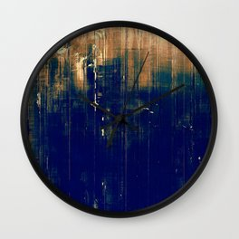 Vintage Dark Wall Clock