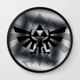 The Legend Of Zelda Logo Wall Clock