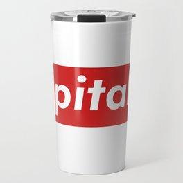 Capitalist Box Logo Travel Mug