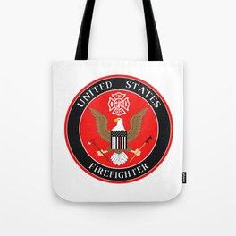 Firefighter Symbol Tote Bag