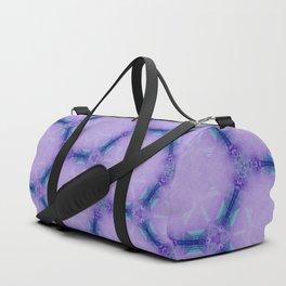 Crystal Pantone Geometrical Pattern Duffle Bag