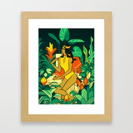 The Greenhouse Framed Art Print