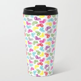 little heart Metal Travel Mug