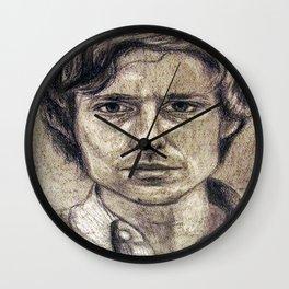 John Maus (portrait) Wall Clock