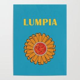 Filipino Kitchen Loteria - Lumpia Poster