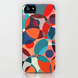 Crowded place iPhone Case