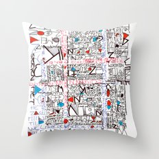 2002 - Thoughts In Rotterdam (High Res) Throw Pillow