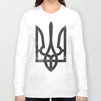 ukraine Long Sleeve T-shirts featuring Ukraine by Sitchko Igor
