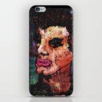 eddie vedder iPhone & iPod Skins featuring Eddie Arm Licker by brett66