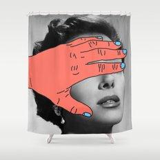 Burning Hands Shower Curtain