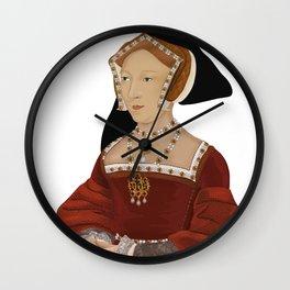Jane S. Tudor  Wall Clock