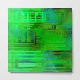 SchematicPrismatic 03 Metal Print