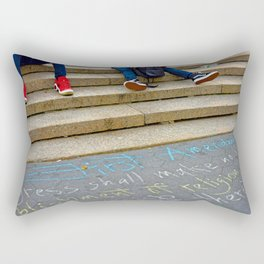 Freedom of Expression Rectangular Pillow