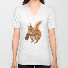 Super squirrel. Unisex V-Neck