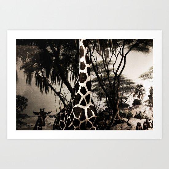 Wild Beasts Art Print
