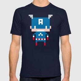 Pixel Captain America T-shirt