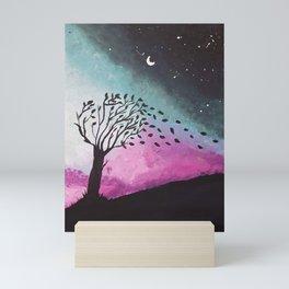 Aurora breeze Mini Art Print