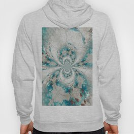 Reality Curved - Abstract Art by Fluid Nature Hoody
