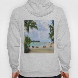 A Dreamy Day at a Tahitian Beach, Bora Bora Hoody