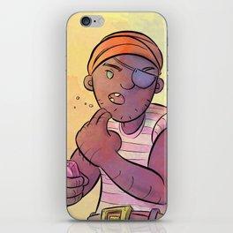 Stowaway Pirate iPhone Skin