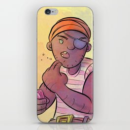Stowaway Pirate iPhone Skin