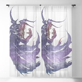 FF4 Galaxy Sheer Curtain
