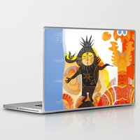 elf Laptop & iPad Skins featuring Saharan Elf by Zendigo Art