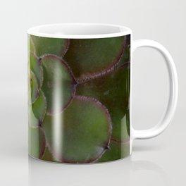 Radiating succulent Coffee Mug