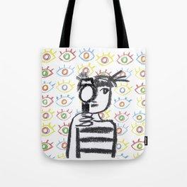 Cinema girl Tote Bag