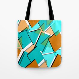 dense pattern Tote Bag