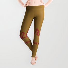 Preferred Services of WNY in Maroon Leggings