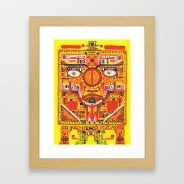 Kan Yellow Seed Framed Art Print