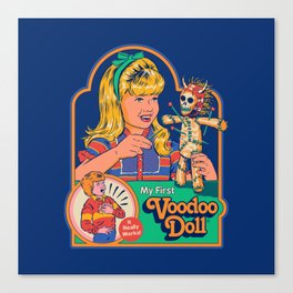 My First Voodoo Doll Canvas Print