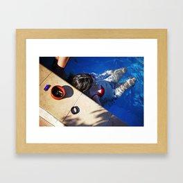 Pool. Alethriko. Framed Art Print