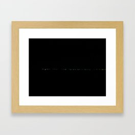 Under Lowway Night III Framed Art Print