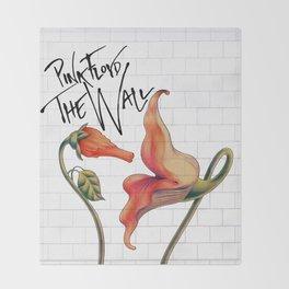 Pink Floyd The Wall Throw Blanket
