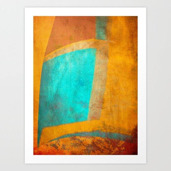 Osíris Art Print